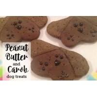 30 X Grain Free Carob (DOG CHOCOLATE) & Peanut Butter - SUITABLE FOR VEGAN/VEGETARIAN