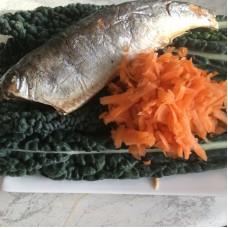 Organic Herring, Carrot & Kale Vegetarian Dog treats/Dog Biscuits (pk 30)