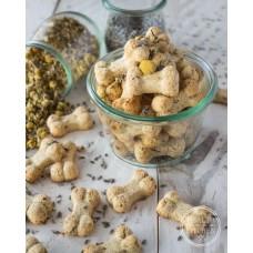 50 X Puppies Bedtime Biscuits - Venison, Chamomile & Lavender.