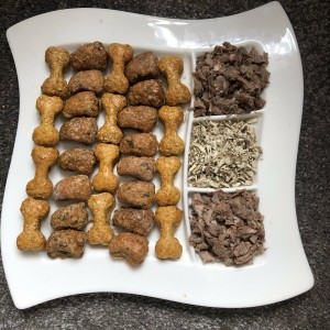 30 X Irritable Bowel Syndrome dog biscuits (IBD) Wild Rabbit, Chamomile & Marshmallow Root